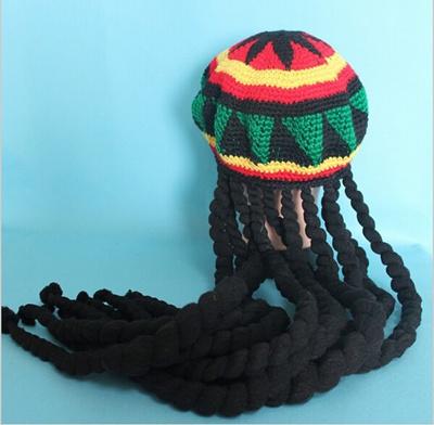 Qoo10 Jamaican Bob Marley Rasta Beanie Hat Fancy Cap Weed Reggae