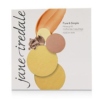 Jane Iredale Pure & Simple Makeup Kit - # Medium Dark -