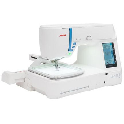 Janome Skyline S9 Sewing Embroidery Machine - Best Price Home Appliance |  www sewing sg