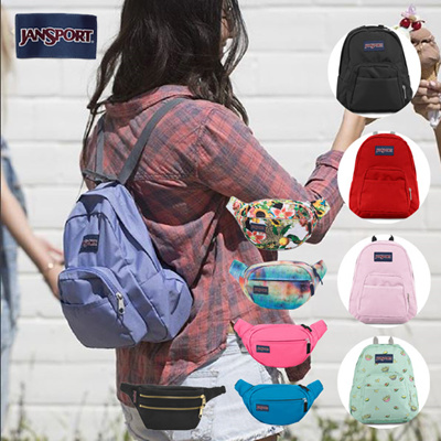 b35ca373204b  JanSport  HALF PINT   FIFTH AVENUE HIPPYLAND mini Backpack Waistbag  passport bag16type