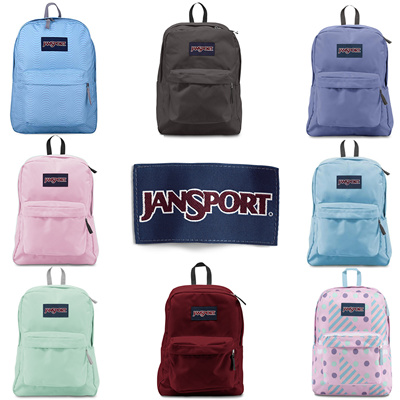 972746382e57 Jansport Superbreak backpack Bag  Multiple Colours  100% Authentic