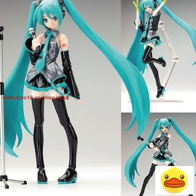 Japan Anime Hatsune Miku Figure Figma PVC Action Collectible Brinquedos Kids Toys Juguetes 6