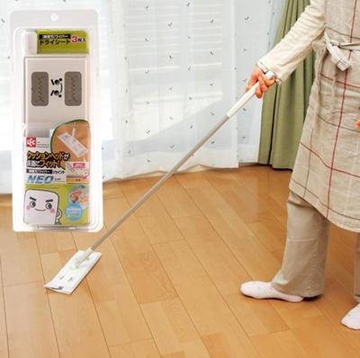 Qoo10 Japan Lec Plate Electrostatic Dust Mop Wet Mop The Wood