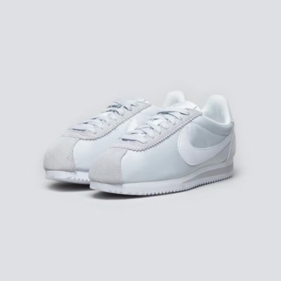 low priced af14f 35cf2 [Japan] NIKE CLASSIC CORTEZ 15 NYLON Nike Classic Women's Cortez Pure  Premium Gray White 749864-010