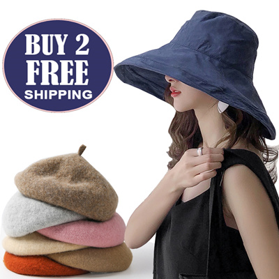 98446cc1 Qoo10 - Japanese Style Women summer Hat☀ UV Sun Protection Wide Brim Summer  ... : Fashion Accessor.