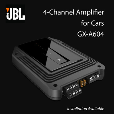 JBL GX-A605 / 4-Channel Amplifier for Cars / Installation Available