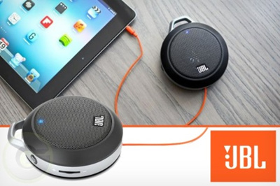 JBL Micro Wireless Ultra-Portable Speaker with Built-In Bass Port and Wireless Bluetooth