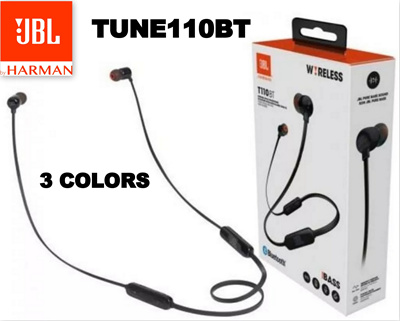 JBL T110BT Wireless in-ear headphones Pure Bass Zero Cables ( 3 COLORS )
