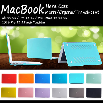 [JD Mall] Matte Crystal Series Free Keyboard Protector MacBook Hard Case