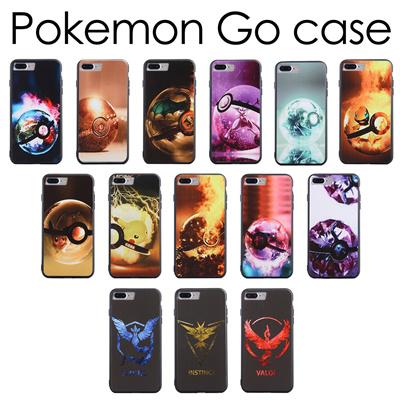 JD Pikachu CASE Pokemon Go iPhone Series 5/6/7/8 6/7/8 Plus Casing Case  Cover