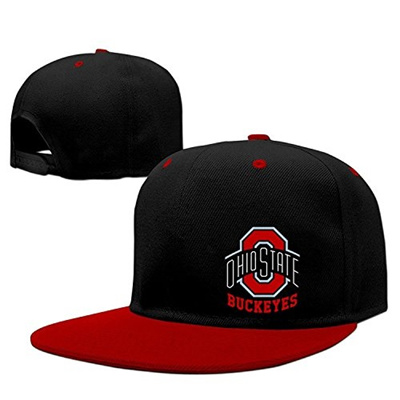 Je9wz Caps Osu Ohio State Buckeyes Snapback Hip Hop Baseball Cap Hat Adjustable 100 Cotton Mal