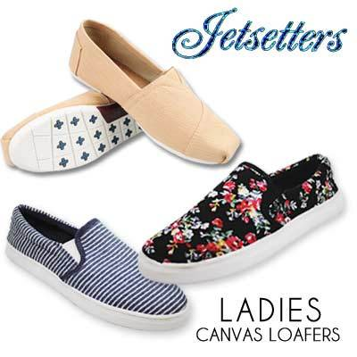 6477c948e1d Qoo10 - Canvas Loafers!   Shoes