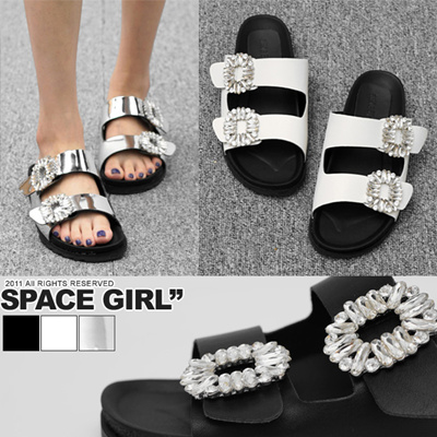 1f31a0050871 Jewelry Belt Slippers ☆ Glitter Jewelry Belt Slippers   Sandals   Mules    Wedges   Pumps