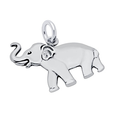 Qoo10 jewelrybadger 925 sterling silver elephant pendant jewelrybadger 925 sterling silver elephant pendant bracelet bangle charm 18mm made in usa aloadofball Image collections