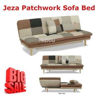 Fantastic Jeza Patchwork Sofa Bed Sofa Bed Evergreenethics Interior Chair Design Evergreenethicsorg