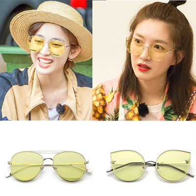 a6ab1394fc Qoo10 - Jiang Shu ying, flowers and young with transparent glasses  sunglasses ...   Fashion Accessor.
