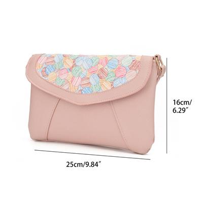 cd80597b67 JIARUO PU leather Women Envelope Messenger bags Slim Crossbody Shoulder  bags Handbag Small Cross bod