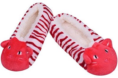 676b3c827e9 Qoo10 - (JIERKU) Winter Fuzzy Slippers Boots Women Anti-Slip Bedroom Shoes  Ind...   Shoes