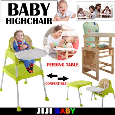 Baby Highchair 3 In 1 Feeding High Chair