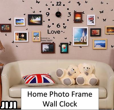 Creative Wall Clocks * DIY Wall Clock* Photo Frame Wall Clock * 3D Wall  Decor