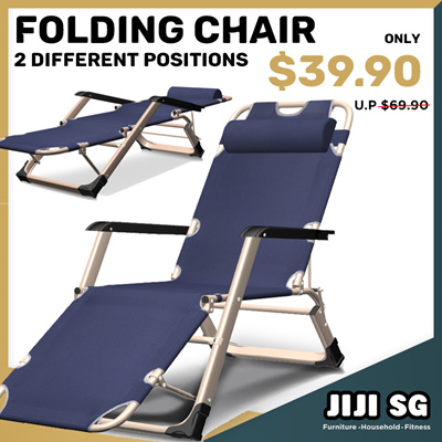Surprising Jijifolding Foldable Reclining Chairs Outdoor Indoor Elderly Recliner Portable Padded Beatyapartments Chair Design Images Beatyapartmentscom