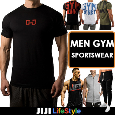 ab92ff987467e ☆Gym Attire Mens Sport Wear (Tee Shorts)T-shirt☆ Men Pants