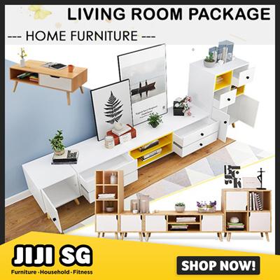 Qoo10 Living Room Package Furniture Deco