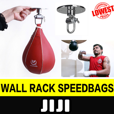 ☆Speed Bag with Wall Rack☆ Speed Ball with Wall Mount / Punching Bag /