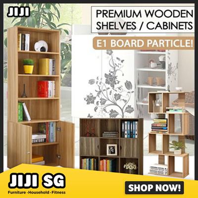 JIJIStanding Bookshelves / Bookcase / Cabinet! ★Furniture / Storage /  ★Living Room / Bedroom / Office