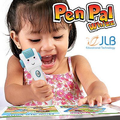 [JLB] Pen Pal Whizz  Audio Pen for Children  Educational and Entertaining   Age 0-10  Standard bundle with 18 books
