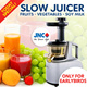 Qoo10 - [ONLINE SPECIAL] JNC SLOW JUICER. Retains Nutrients. MAKE YOUR OWN COL... : Home Electronics