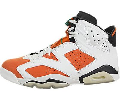 b528d159f  JORDAN  384664-145 - Air 6 Retro Gatorade Men Lifestyle Sneakers - 9