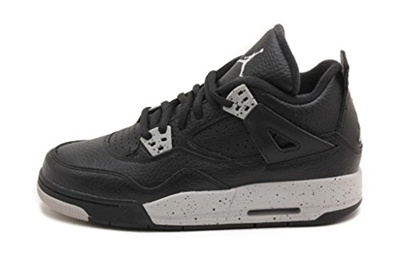 127f595bff3b15 Qoo10 - (Jordan) Jordan Kid s Air 4 Retro BG, OREO-BLACK TECH GREY ...