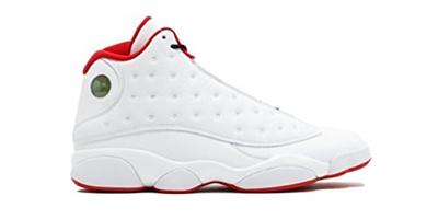 f4357ce16 (Jordan) Nike Air Jordan 13 Retro Mens Basketball Shoes White Metallic  Silver