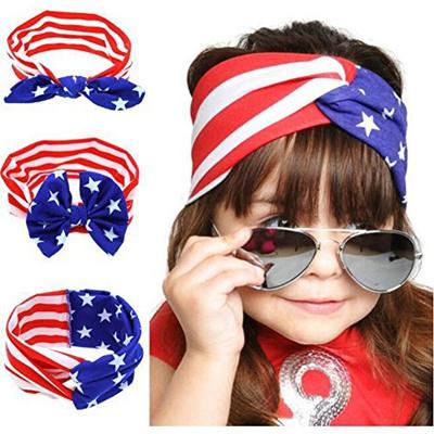 f156b7afba3 Qoo10 - Joyci American National Day Newborn Head Band Baby Girls Hair Hoop  Bow...   Kids Fashion