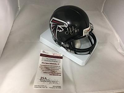 74f04572e7d Qoo10 - Julio Jones Autographed Signed Atlanta Falcons Mini Helmet JSA  Witness...   Collectibles   B..