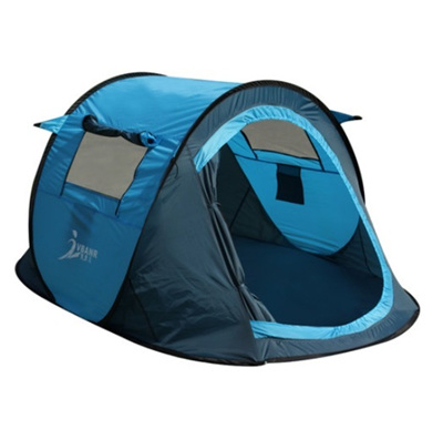 JUST 2 Second Automatic POP-UP 2 Man All Weather Tent ~ Oxford textile high  sc 1 st  Qoo10 & Qoo10 - JUST 2 Second Automatic POP-UP 2 Man All Weather Tent ...