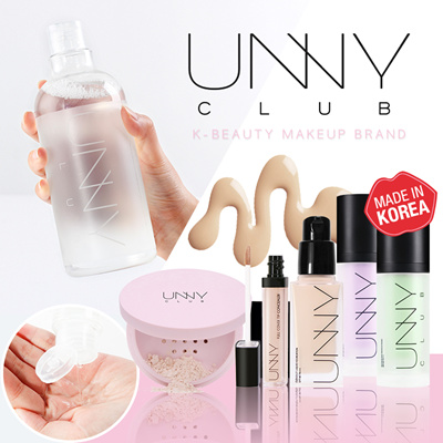 K-BEAUTY MAKEUP BRAND【UNNY CLUB】IMPORTED direct from KOREA ★AUTHORIZED SG  DISTRIBUTOR★ FACE/SKINCARE