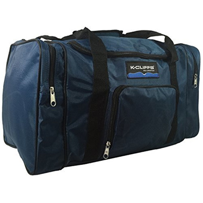 (K-Cliffs) Sport Duffel Bag Fitness Gym Bag Luggage Travel Bag Sports  Equipment 96deca693c