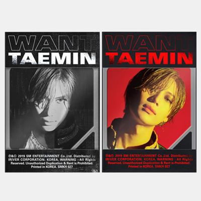 K-Pop TAEMIN - 2nd Mini Album [WANT] - KIHNO (Smart Music Card)  (TAMIN02MNKN)
