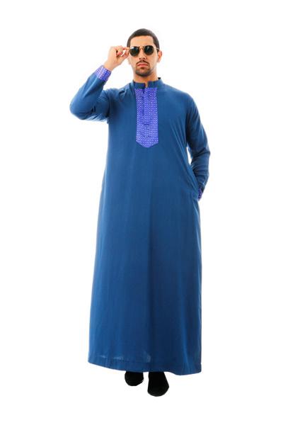 Qoo10 Kamdar Jumaart Mens Long Jubah Dark Blue Women S Clothing