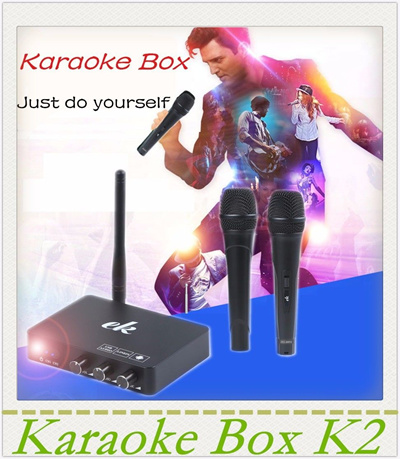 Karaoke Echo Mixer box/machine system-Sing a song from android TV pccomputer