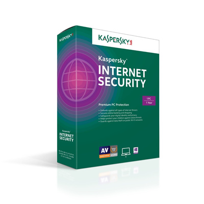 Kaspersky Internet Security 2015 - 1 Year 3 PC (ESD- ACTIVATION CODE AND  DOWNLOAD LINK ONLY NO CD )