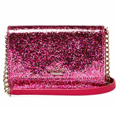 bc82f862c Qoo10 - Kate Spade KSNY Cami Glitter Bug Crossbody Sling Bag (Pink/Red  Sparkle... : Bag & Wallet