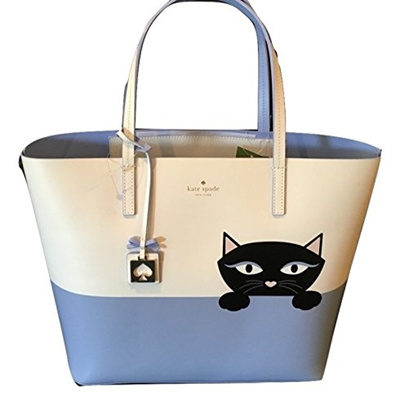 0fe94b9bda [KATE SPADE NEW YORK] Kate Spade Peeking Cat Jazz Things Up Little Len Large