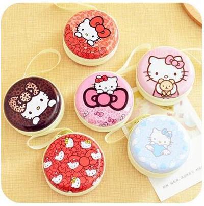 Qoo10 - Kawaii Cartoon Iron Mental Hello Kitty Women Lady Girls Candy  Jewery ...   Furniture   Deco f513aa6575070