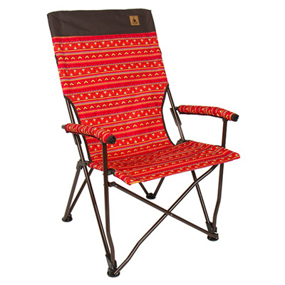 [KAZMI] Easy Sling Relax Chair Folding Camping Chairs With Carry Bag  Camping Chair Garden