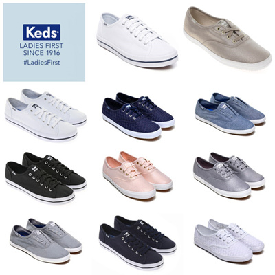 d0bc90203ec  Keds  KICKSTART SEASONAL SOLID CHAMPION METALLIC CANVAS sneakers 18TYPE