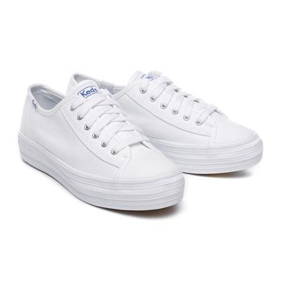 46442b088e552 Qoo10 -  Keds  TRIPLE KICK CANVAS (WF 57306) White (WT) sneakers   Shoes