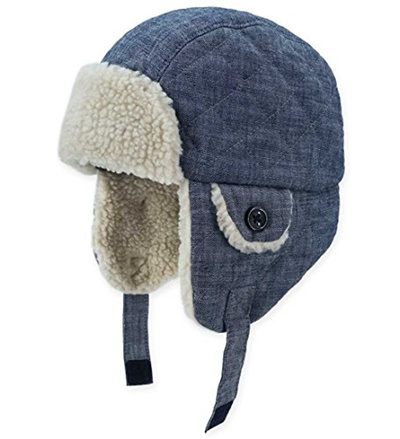 Qoo10 - Keepersheep Todder Baby Boys Ushanka Earflap Winter Trooper Hat  Cap 16089181f48